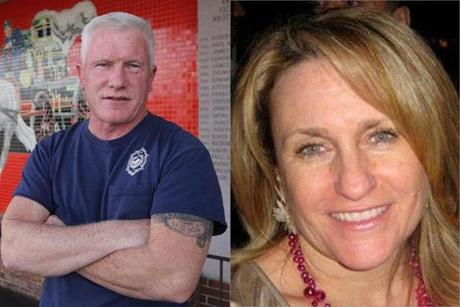 Firefighter Patrick Foley helped to save Roseann Sdoia after the bombings.
