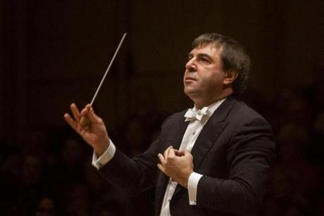 Daniele Gatti led the BSO in three mammoth Symphony Hall programs and two appearances at Carnegie Hall this season.
