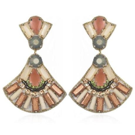 """St. Tropez"" drop earrings by Suzanna Dai, $195 at Recess Boutique, 38 Church Street, Winchester, 617-905-6538, recessboutique.com"