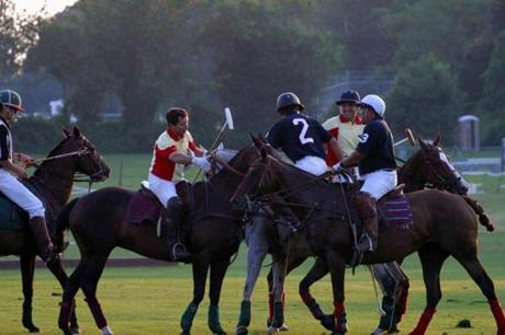 12newport - Polo matches are held at Glen Farm (Newport International Polo)