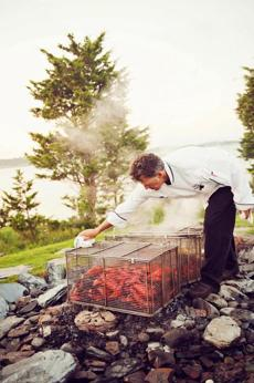 12newport - Clambakes are one of the luxury events held at the Castle Hill Inn. (Castle Hill Inn)