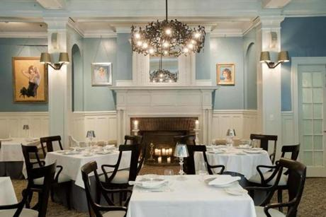 12newport - Muse by Jonathon Cartwright, at the Vanderbilt Grace Hotel, is known for its elegant setting and fine cuisine. (The Preservation Society of Newport County)