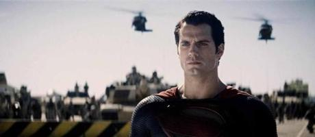 "Henry Cavill plays Superman in ""Man of Steel."""