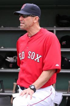Bench coach Torey Lovullo
