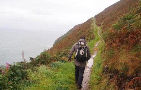 About 60 miles of the national walkway runs along the ocean in the Ceredigion region.