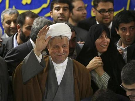 Former president Ali Akbar Hashemi Rafsanjani also drew fire for his campaign.