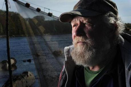 "Harvey Curtis, 66, hopes the state's eel fishery will remain open because of the ""poverty down this way; people need the money."""