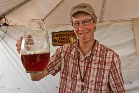 A cold, frosty welcome awaits at the Vermont Brewers Festival.
