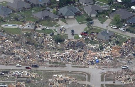 At least 24 people were killed, including at least nine children, in Monday's massive tornado in Oklahoma.
