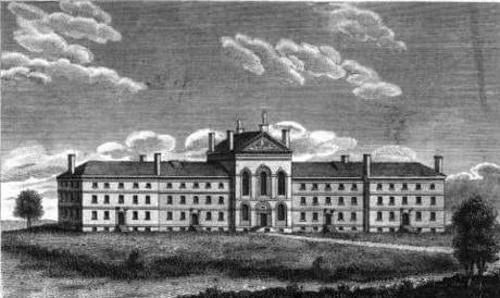 The West End Almshouse, 1828.