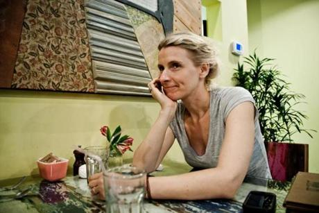 "Author Elizabeth Gilbert (""Eat, Pray, Love"" ) says she is not good at meditating."