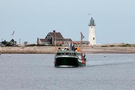 Only seven commercial vessels operate out of the town pier in Scituate.