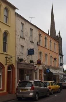 Downtown Enniskillen.