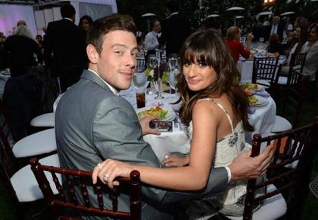 Mr. Monteith with Michele, his costar and real-life girlfriend.