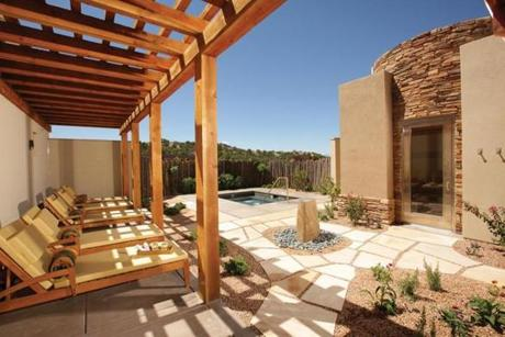 The Four Seasons Resort Rancho Encantado in Santa Fe.