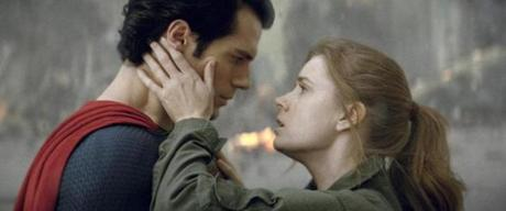 "Superman and Daily Planet reporter Lois Lane (played by Amy Adams) have little time for romance in ""Man of Steel.''"
