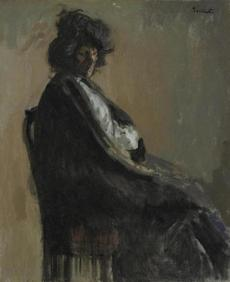 "Painter Walter Richard Sickert's ""Putana a Casa."""