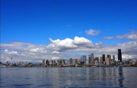 Despite its repuation, Seattle gets less rain than New York, but it is one of the country's top five cloudiest cities.