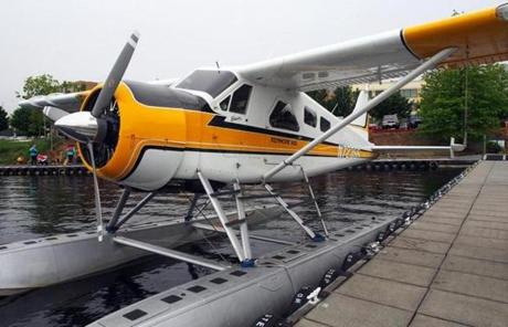 Take a 20-minute float plane tour over Seattle with Kenmore Air.