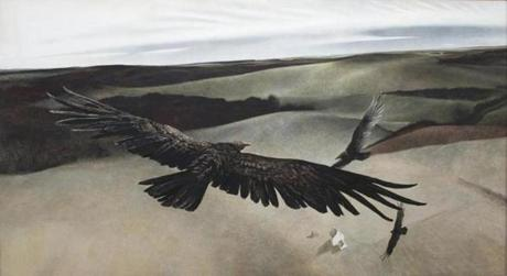 """Soaring"" by Andrew Wyeth."