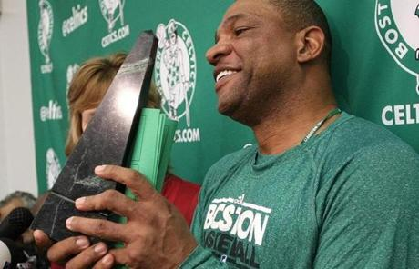 He became the 16th coach in Celtics history in 2004 and led the team to victory in the 2008 NBA Finals.