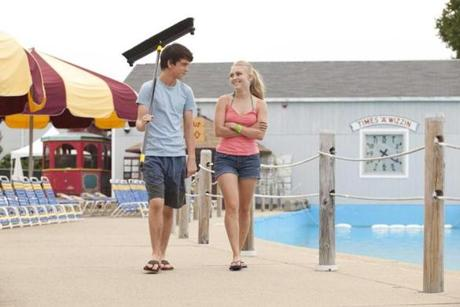 James and AnnaSophia Robb in the coming-of-age comedy.