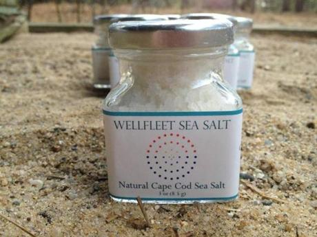 Wellfleet Sea Salt Co.'s product.