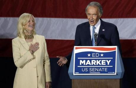 Senator-elect Markey, 66, now heads to the Senate to finish the final 17 months of John F. Kerry's term.
