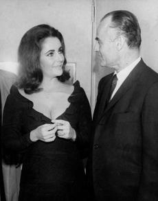 Anthony's national profile was dramatically enhanced in 1964 when Elizabeth Taylor (left) and Richard Burton dined there.