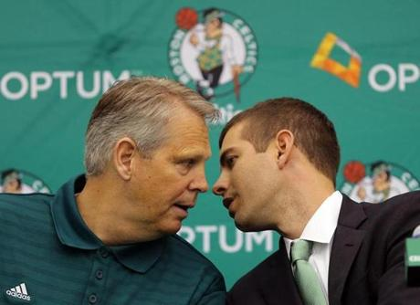 Celtics boss Danny Ainge said he had been interested in Stevens as an NBA coaching candidate for several years, but never thought he'd be able to hire him.