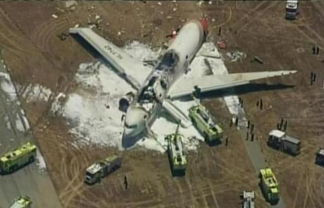 An airport spokesman said he did not yet know how many passengers were aboard the flight.