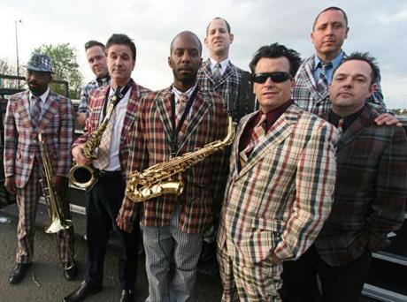Local favorites the Mighty Mighty Bosstones.