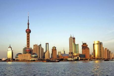 The city of Shanghai.