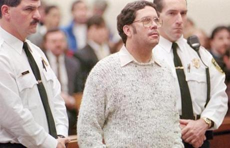 Lewis Lent Jr. stood in court in 1995 during his sentencing for the kidnapping of Rebecca Savarese.