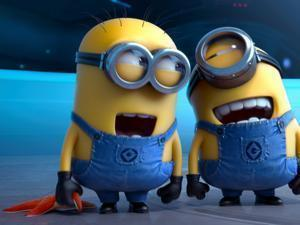 "Despicable Me 2"" got a PG rating for ""rude humor and mild action."" A critic attributed that to the presence of weapons."