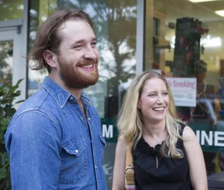 Imagine Dragons drummer Dan Platzman dined with his cousin Lisa Bagley and family at Legal Test Kitchen.