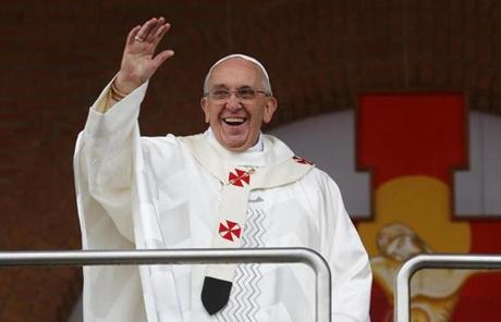 During his trip to Brazil, Pope Francis has continued to break with the traditional protocol.