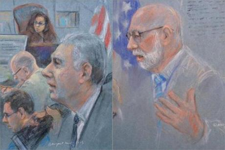"""It's not whether you like the witness; nobody likes these people,"" Assistant US Attorney Fred Wyshak (left) said. ""The government is buying the testimony of these witnesses,"" said J.W. Carney Jr., one of Bulger's lawyers."