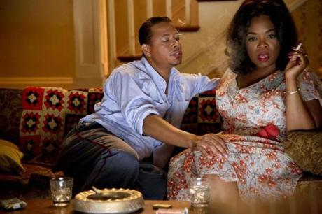 Terrence Howard and Oprah Winfrey also costar in Lee Daniels's film.