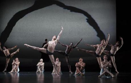 "Martha Graham Dance Company performed ""The Rite of Spring."""