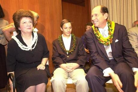 Evan Dobelle left his previous post as president of the University of Hawaii amid criticism of his big spending.