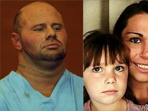 Jared Remy (left) had been arrested Tuesday following an alleged domestic assault on his girlfriend, Jennifer Martel, with whom he had a young daughter.