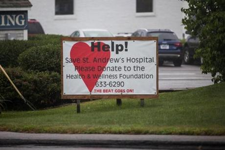 Many in Boothbay have rallied together to prevent changes to the hospital.
