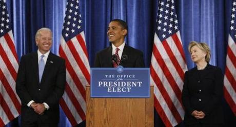 A big question is whether President Obama would endorse either Joe Biden or Hillary Clinton, or stay on the sidelines.