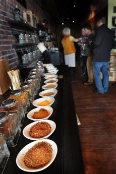 The Bagg's Maine Foodie tourists can sample an array of mixes and rubs at Vervacious that reflects cuisines from around the world.