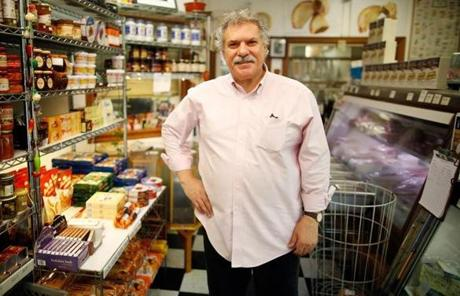 Albert Capone, the owner of Capone Foods, says Somerville has
