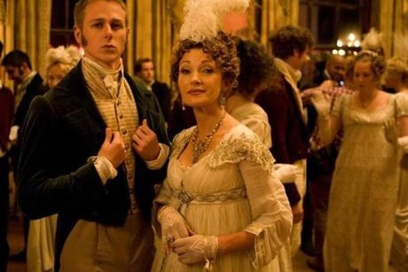 Jane Seymour is Mrs. Wattlesbrook, the woman who oversees Austenland.