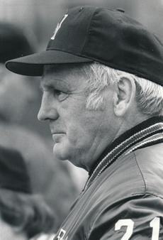Mr. Connelly was the Huskies' head baseball coach from 1956-81.