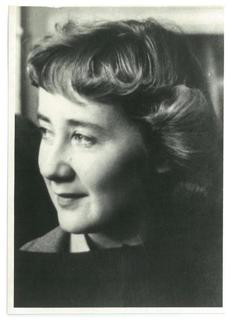 Celia Thaxter Hubbard founded the Botolph Group, which promoted contemporary religious artwork.