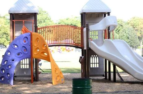 The Charlotte Rose Kelly Play Area in Braintree